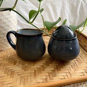 ≪Vintage≫ sugar & creamer set